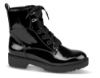 B&CO kort damestøvlett sort