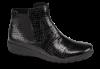 Caprice kort damestøvlett sort 9-9-25455-23