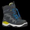 ECCO barnestøvlett sort/blå 710202 SNOW MOUN