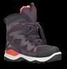 ECCO barnestøvlett sort/burgunder 710202 SNOW MOUN