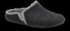 Zafary herretøffel grå