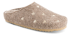 Zafary beige dametøfler 6411501480