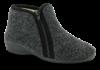 Zafary grå dametøfler 6411501520