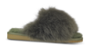 Shepherd dame tøffel oliven 16522