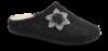 Zafary dame-tøffel antrasittgrå