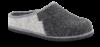 Rohde dametøffel grå 6112