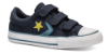 Converse børne canvas sneaker blå 663600C STAR PLA