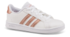 adidas sneaker hvit Grand Court_
