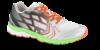 CULT sneaker sølvgrå/hvid/orange