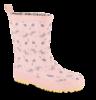 Skofus børnegummistøvle rosa