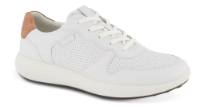 ECCO herresneaker hvid 460634 SOFT 7 RU