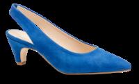 B&CO damepumps koboltblå
