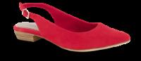 Tamaris damepumps rød 1-1-29403-24