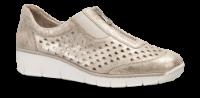 Rieker dame-slipin metallic beige 537F6-62