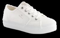 Gant Damesko med snøre Hvid 22538603