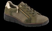 Rieker Damesko med snøre Grønn 53703-54