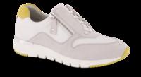 Caprice damesneaker hvit/grå 9-9-23706-24