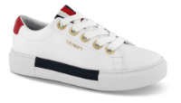 Tommy Hilfiger damesneaker hvit FW0FW04600
