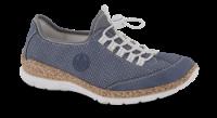 Rieker damesneaker jeansblå N42M8-14