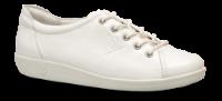 ECCO damesneaker hvit 206503 SOFT 2.0