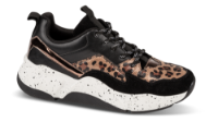 B&CO damesneaker sort /brun