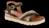 Marco Tozzi damesandal kaki 2-2-28505-24