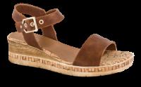 B&CO damesandal brun komb. 4211101632