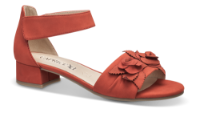 Caprice damesandal rød 9-9-28205-22