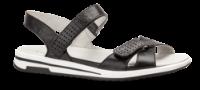 Caprice dame sandal sort 9-9-28600-22