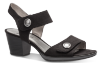 Jana Softline sandal sort 8-8-28308-22