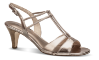 Tamaris damesandal rose metallic 1-1-28304-22