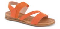 B&CO damesandal orange