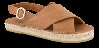 B&CO damesandal brun 4221100130