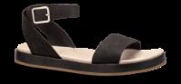 Clarks dame sandal sort 26141350