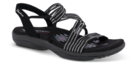 Skechers damesandal sort 163072
