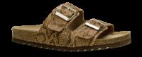 B&CO damesandal brun snake 4419100832