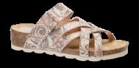 Nordic Softness damesandal rosa multi