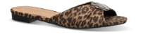 Duffy damesandal leopard 97-00752