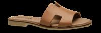 Mentor damesandal lys cognac H-sandal