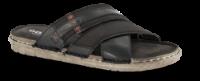 Odiin herre sandal sort komb. 4611100711