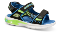 Skechers barnesandal sort 90558L
