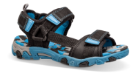 SuperFit børnesandal sort/blå 400101