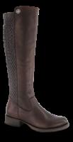 Rieker lang damestøvle mørkebrun Z9591-26