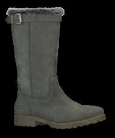 B&CO damestøvlett grå