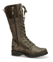 Tamaris lang damestøvlett brun 1-1-26608-23