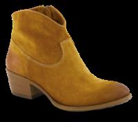 B&CO kort damestøvlett karrigul 5250100170