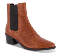 Vagabond kort damestøvle brun 4913-108