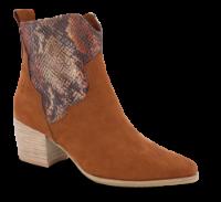Marco Tozzi kort damestøvle brun 2-2-25353-34