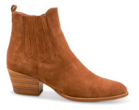 Tamaris kort damestøvle brun 1-1-25704-34