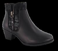 B&CO kort damestøvle sort 5250501610